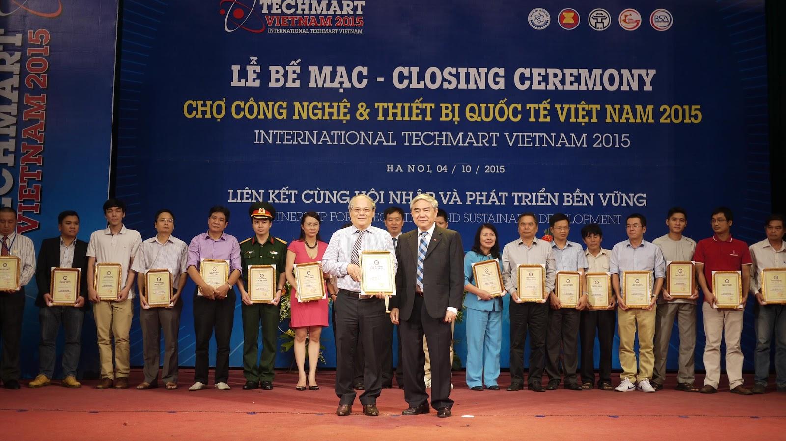 Techmart Quốc tế Việt Nam 2015