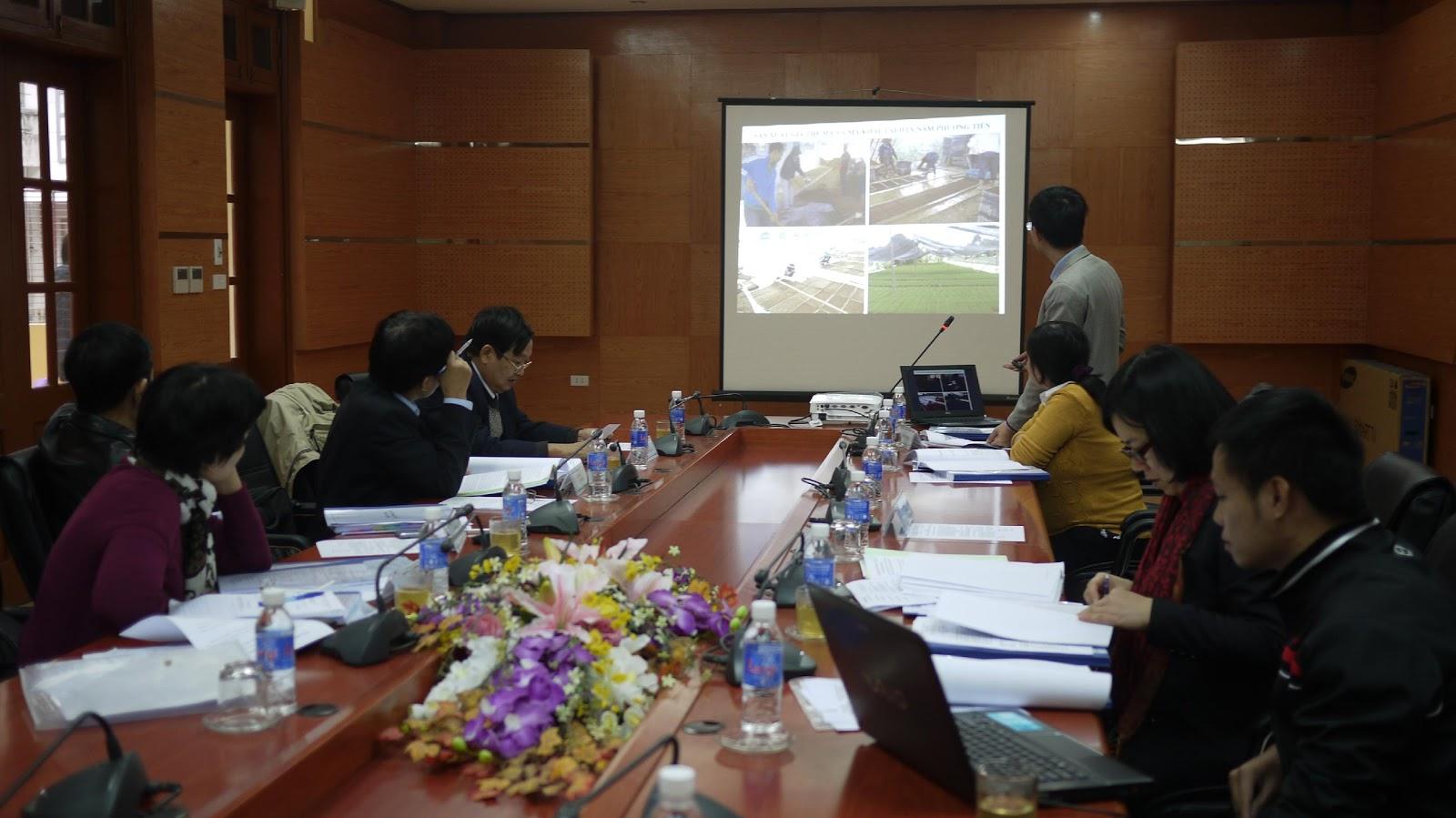 """Báo cáo tiến độ dự án """"Áp dụng công nghệ sinh học để sản xuất giá thể mạ và mạ khay công nghiệp phục vụ cơ giới hóa trong sản xuất nông nghiệp tại Thành phố Hà Nội"""""""