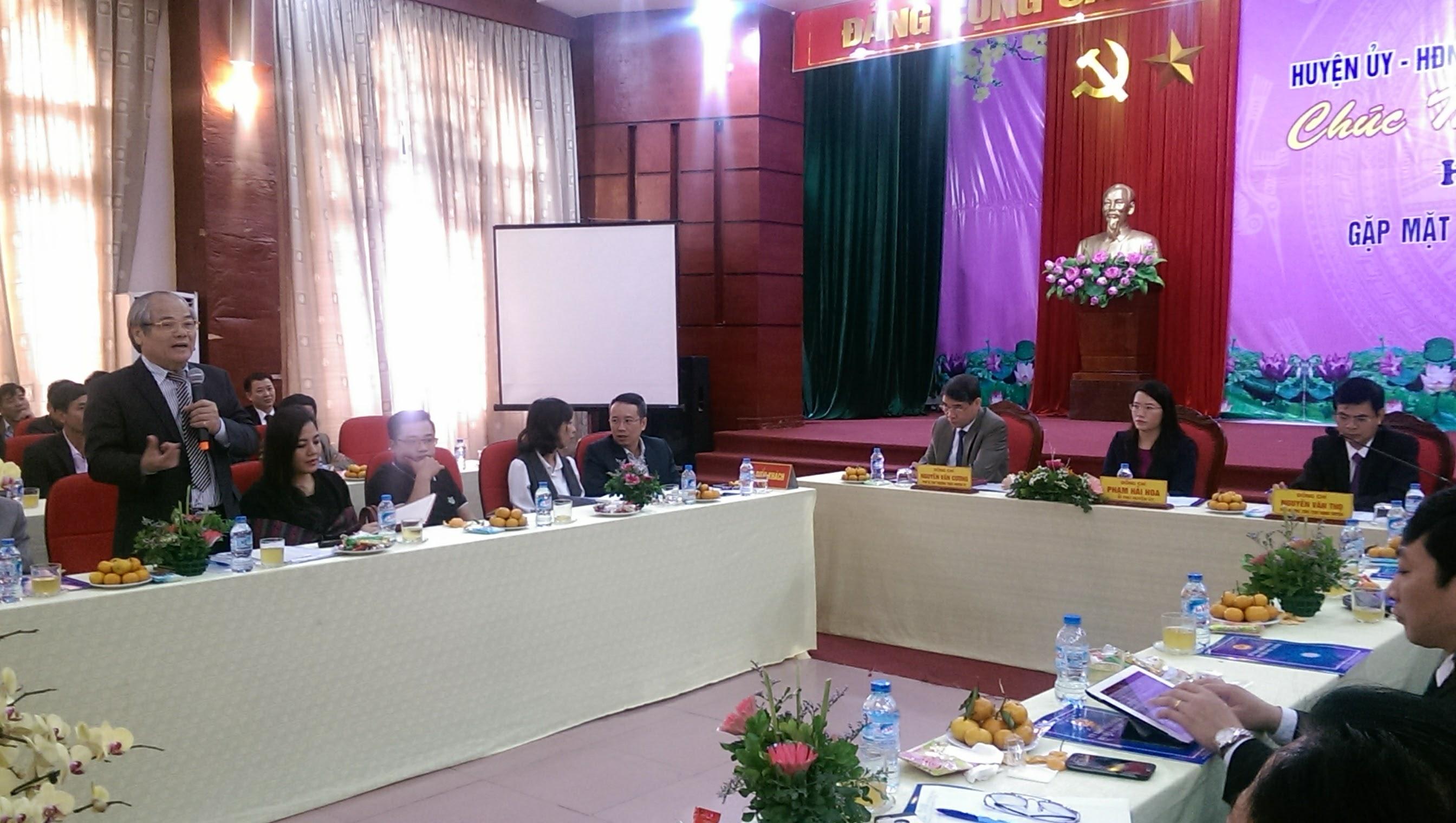 Hội nghị gặp mặt Doanh nghiệp tại huyện Phú Xuyên (Tp Hà Nội) 2017